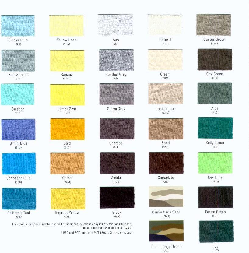Very Best Anvil Color Chart 818 x 831 · 96 kB · jpeg