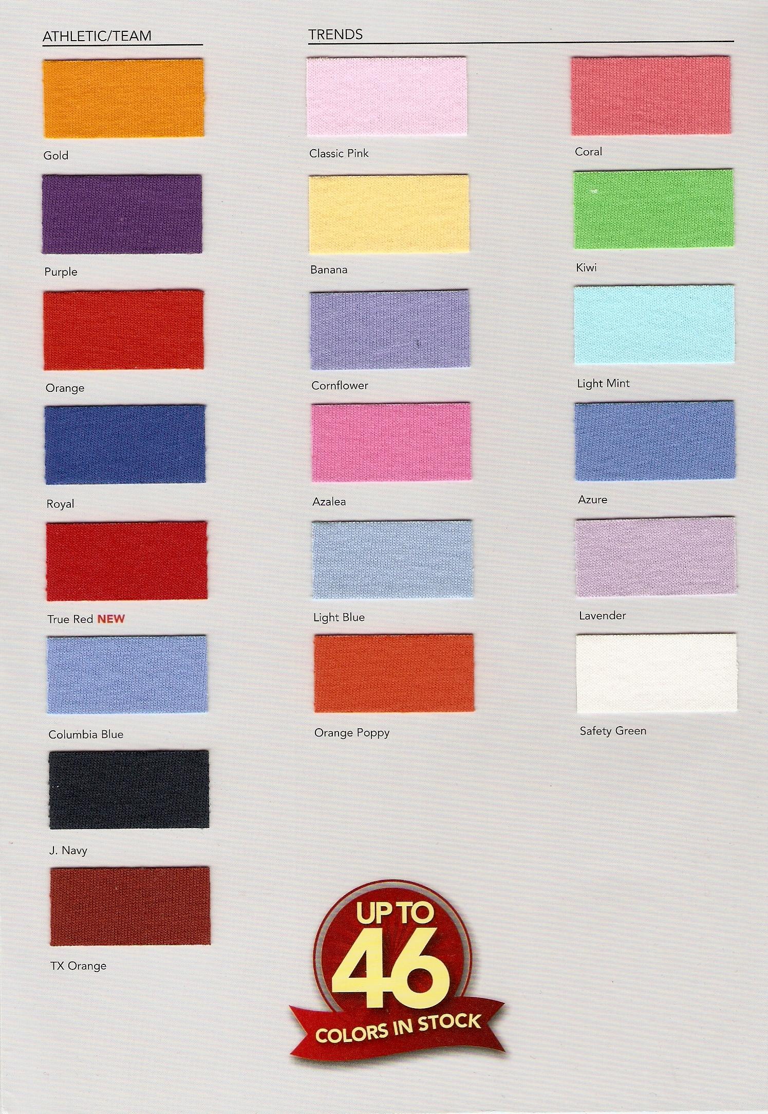 Fruit color image designers inc imprinted gildan color hanes color jerzee color fruit color anvil delta custom screenprinting artwork advertising nvjuhfo Images